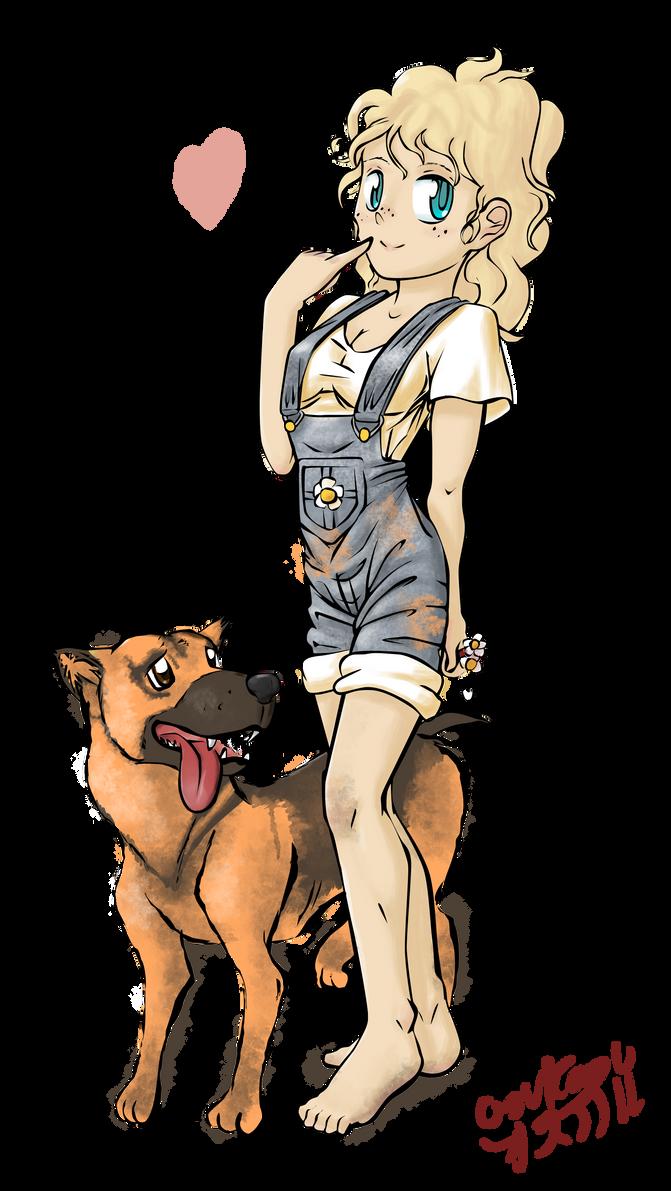 redneck girl in love by OSuKaRuArTRedneck Girl Cartoon