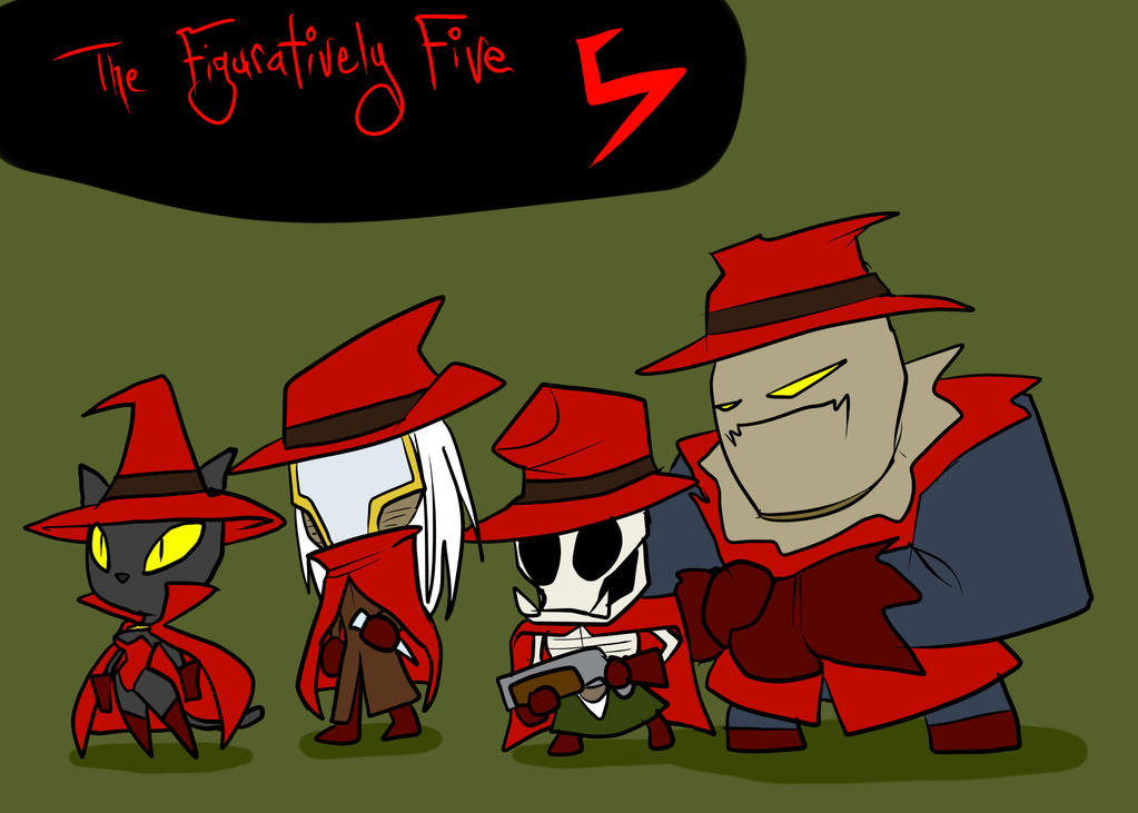 The Figuratively Five by JonFreeman