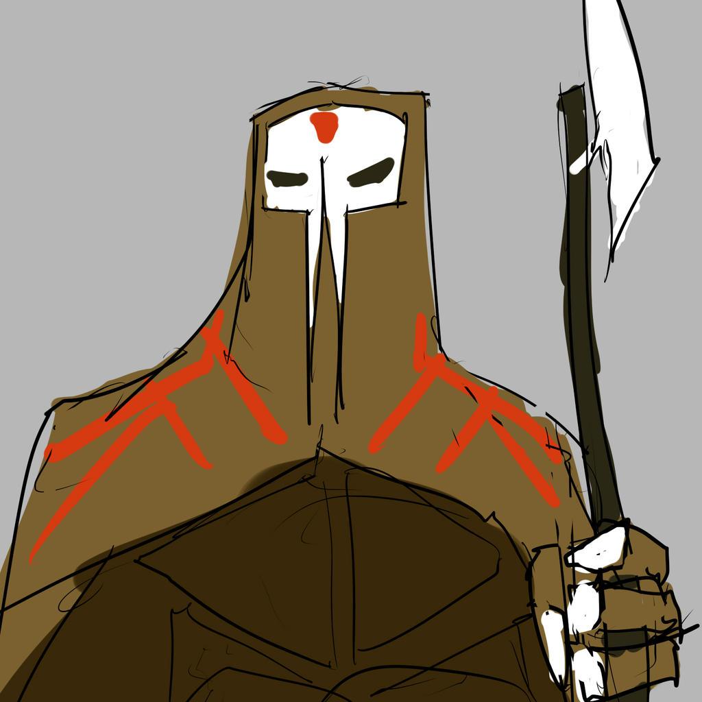 evil cultist ninja doodle by JonFreeman