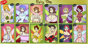 Fairy Time - SOLD OUT by JonFreeman