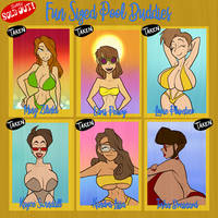 Fun Sized Pool Buddies - SOLD OUT by JonFreeman