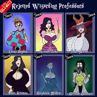 Rejected Wizarding Professors - SOLD OUT by JonFreeman