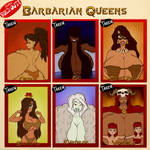 Barbarian Queens - SOLD OUT