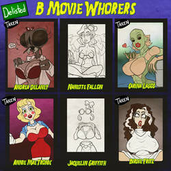 B Movie Whorers - 2/6 delisted