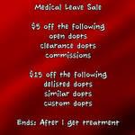 Medical Leave Sale by JonFreeman