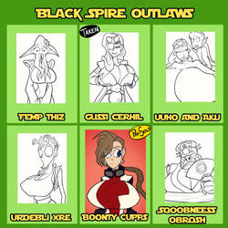 Black Spire Outlaws - 4/6 open by JonFreeman
