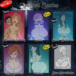 Spectral Sexies - SOLD OUT
