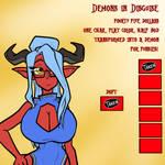 Demons in Disguise - 5/6 open by JonFreeman