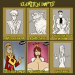 Eldritch Dopts - 4/6 open by JonFreeman