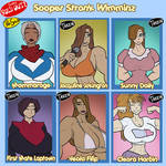 Sooper Stronk Wimminz - sold out