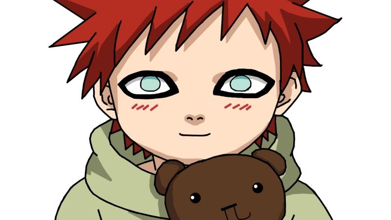 Gaara Kid Images & Pictures - Becuo Gaara And Naruto Kids