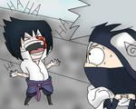 Evil laugh sasuke