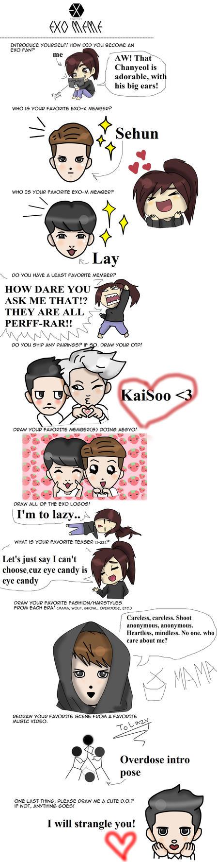 exo meme BABY by sozine2