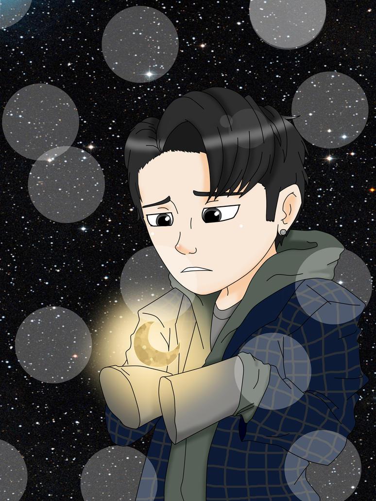 Dean - D half moon by sozine2