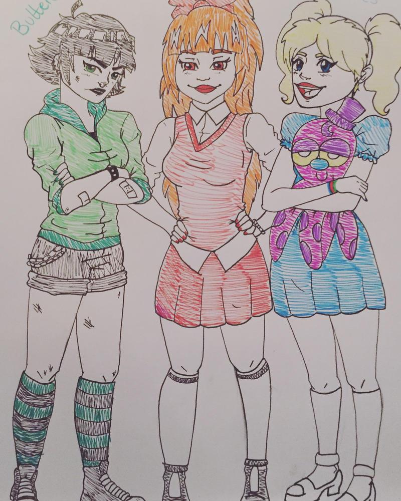 PowerPuff Girls by sozine2