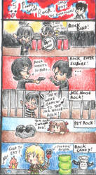 5 Puns With Rock... by Tomatogal