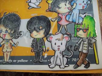 Tezuka-ized Sketchbook 1 by Tomatogal