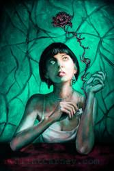 Blood Rose by ClintCarney