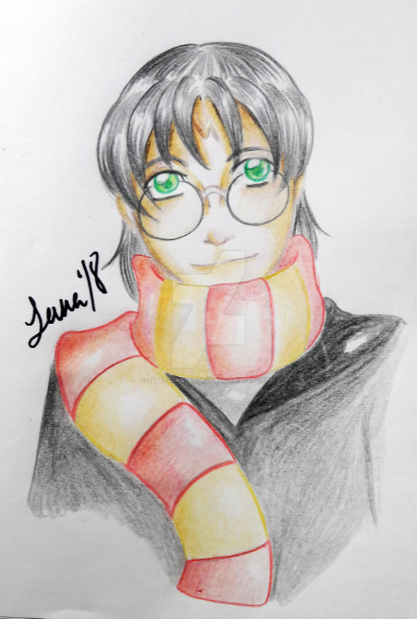 Harry Potter by ElberethStargazer