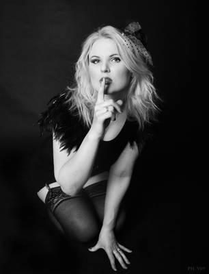 Shhh... Don't say anything by Vampiria69