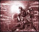 FF Dissidia-Heroes Gathering
