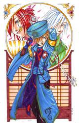 KingdomHearts: Street J- Sora by akewataru