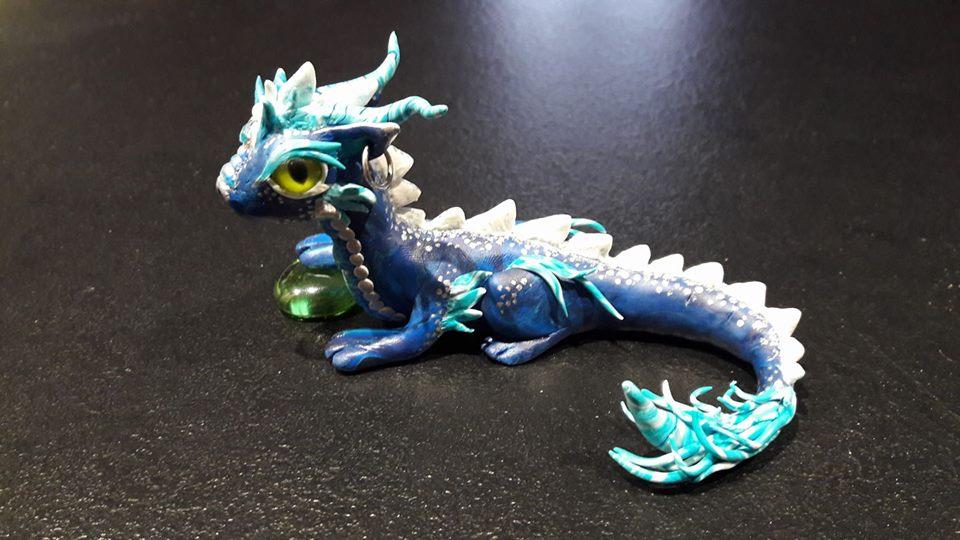 Blue dragon : Aqua by Judy25