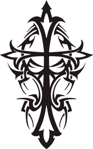 Spacetime Crinkle Tribal_cross_tattoo_design_by_phoenix_r_fireheart-d8766dz
