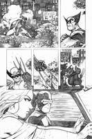 Marvel Test Xmen page 1 by the-BluePhoenix