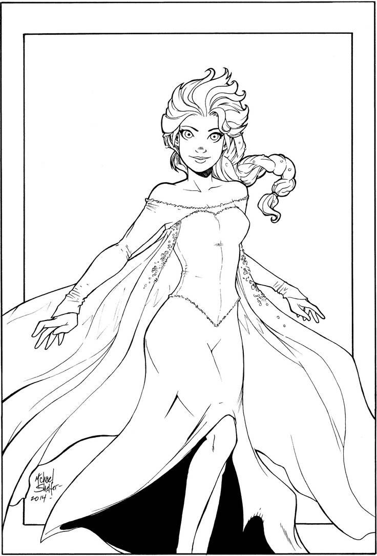 Elsa Inks by the-BluePhoenix