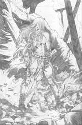 Dragon Slayer by the-BluePhoenix
