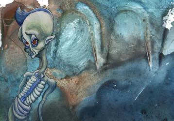 In der blauen Vene by eltorofuerte