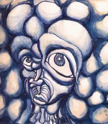 in der blauen Blase by eltorofuerte