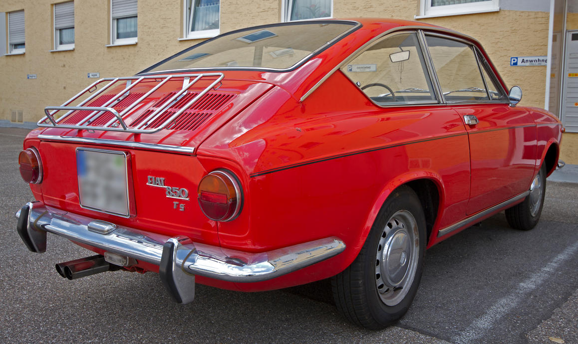 Fiat 850 sport coupe 3 by macpaul on deviantart - Fiat 850 coupe sport a vendre ...