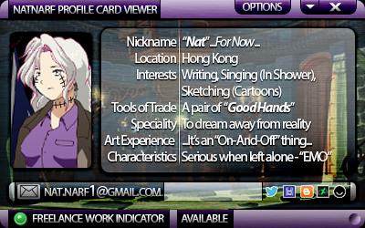 natnarf's Profile Picture