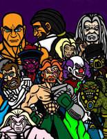Cover, Demi-Gods. Part 1 COLOR by slyvenom