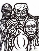 Cover, Demi-Gods. Part 2 WIP by slyvenom