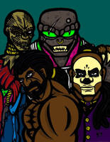 Cover, Demi-Gods. Part 2 Color by slyvenom