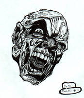 Deadpool Unmasked by slyvenom