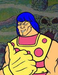 Prince Goldar, Filmation Style