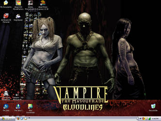 My desktop - Bloodlines by slyvenom
