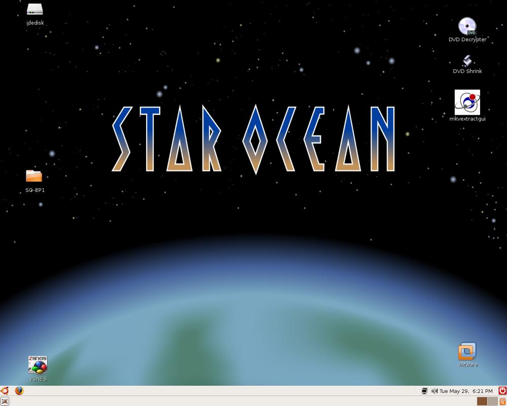 Desktop-Ubuntu by slyvenom
