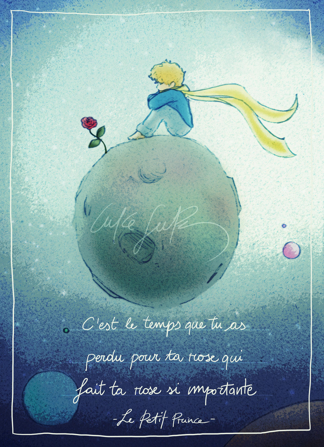 Le petit prince by lukesure on deviantart Decoration le petit prince