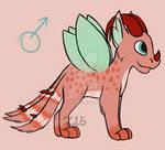 Breedable Baby Dragon for Demonix0218 by internetnerd15