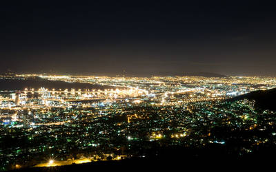 Cape Town Nights Wallpaper