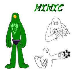 Flan.Bo's Minion Contest Entry: Mimic by Bigjawthereptile