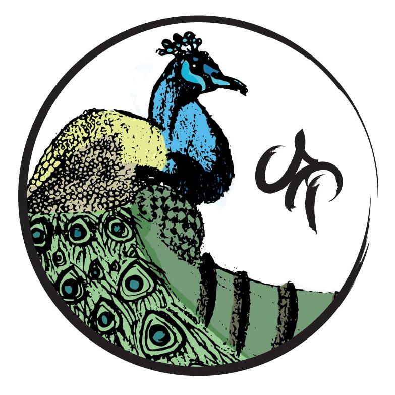 Peacock-Logo by Cajyin