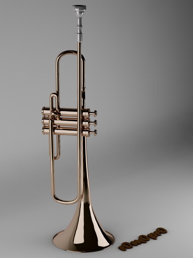 Trumpet by viennArts