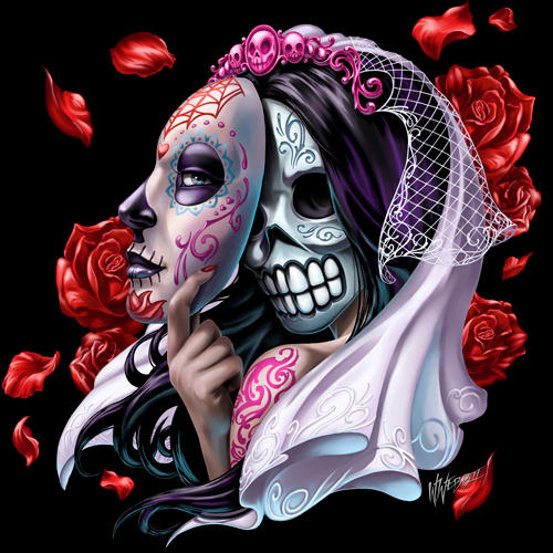 Day of the Dead Bride by WilliamWebb