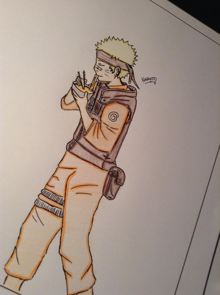 naruto eating ramen coloring pages - photo#22